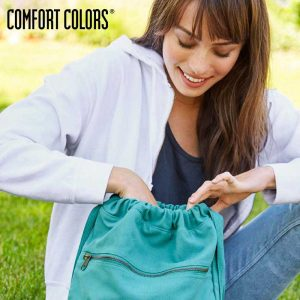 COMFORT COLORS 342 Canvas Cinch Sack