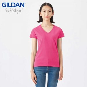 Gildan 63V00L SoftStyle Ladies V-Neck T-Shirt