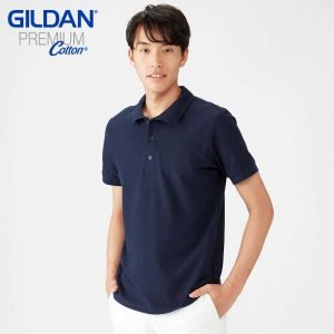 Gildan 6800 6.5oz Premium Cotton Double Pique Polo