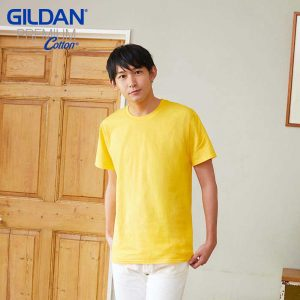 Gildan 76000 Premium Cotton Adult Ringspun T-Shirt