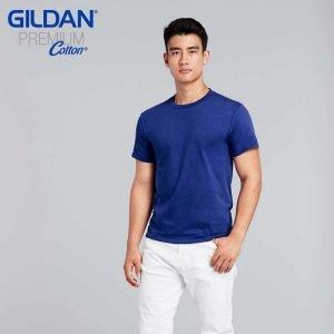 Gildan 76000 Premium Cotton Adult Ring Spun T-Shirt
