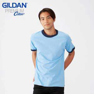 Gildan 76600 成人撞色頜 T恤
