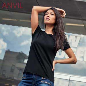 ANVIL 880L 女裝輕身環紡 T 恤