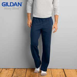 Gildan 88400 HEAVY BLEND 成人休閒口袋運動長褲