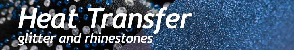 Heat Transfer Glitter Rhinestone