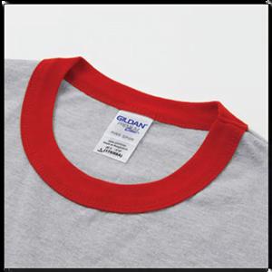 Gildan 76600 Premium Cotton Adult Ring Spun Ringer T-Shirt
