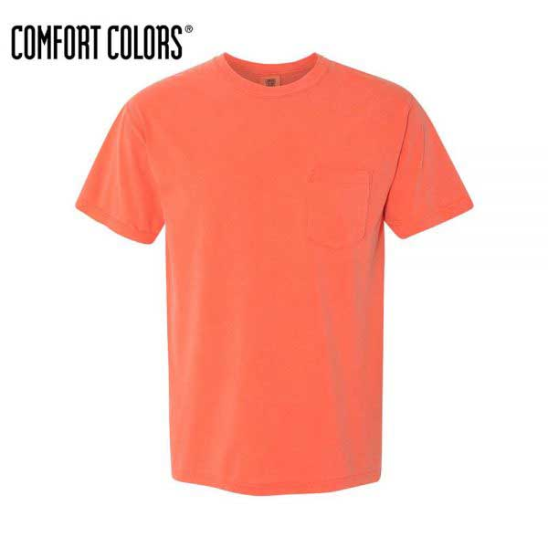 Comfort Colors 6030 Bright Salmon Front